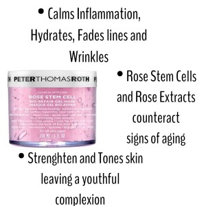 mask, hydrate, fight wrinkles, rose stem cells, thomas roth, meg b beauty