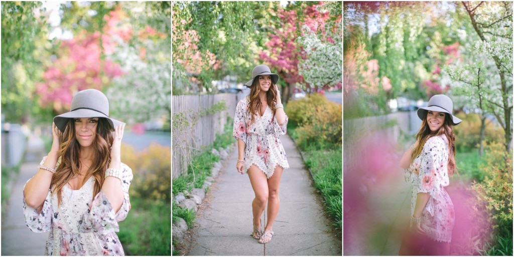 nanamacs boutique, summer hat, boho fashion, bohemian, spring flowers, meg b beauty, fashion blog, lisa wise photography, northwest photographer